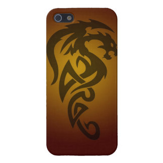 Dragon tribal art tattoo cool color design iPhone 5/5S covers
