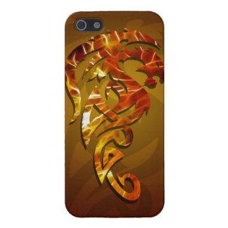 Dragon tribal art tattoo cool color design iPhone 5 case