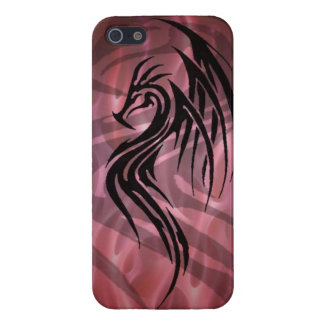 Dragon tribal art tattoo cool color design iPhone 5 cover