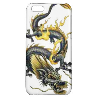 Dragon tribal art tattoo cool color design iPhone 5C cover