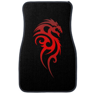 Dragon Tribal Symbol Floor Mat