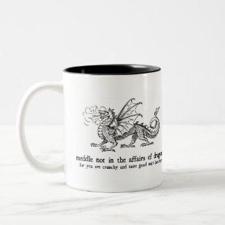 Dragon Two-Tone Coffee Mug