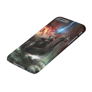 Dragon Viking Ship Barely There iPhone 6 Case