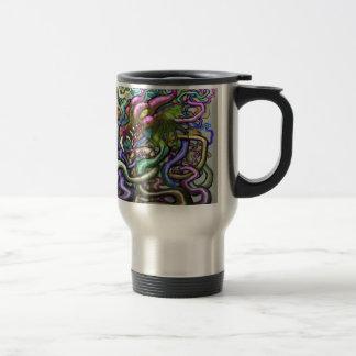 Dragon Vines Travel Mug