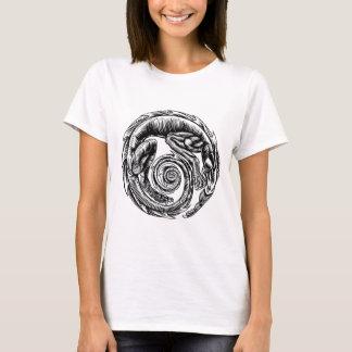 Dragon Vintage Woodcut T-Shirt
