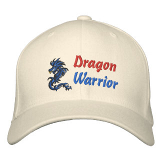 Dragon, Warrior Embroidered Hat