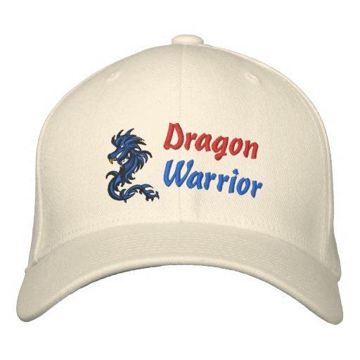 Dragon, Warrior Embroidered Hat