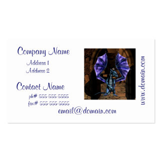 Dragon Wings Business Card Template