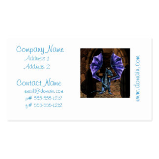 Dragon Wings Business Card Templates