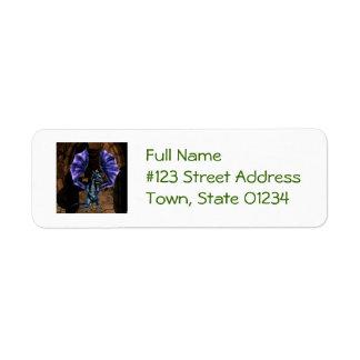 Dragon Wings Return Address Label