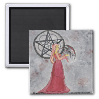 Dragon Witch Magnet