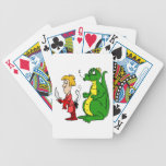 Dragon with Burnt Knight.png Bicycle Card Deck