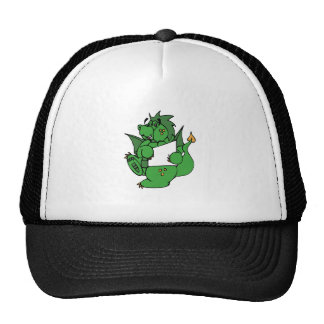 Dragon With Paper Trucker Hat