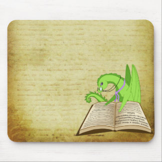 Dragon word s mouse pads
