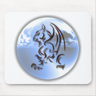 Dragon World Design Mouse Pad