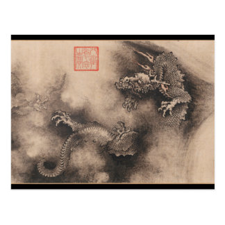 Dragon Year Chinese Zodiac sign Postcard