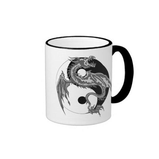 Dragon Yin Yang Gift Coffee Mugs