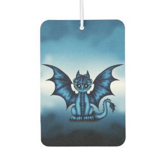 Dragonbaby blue car air freshener