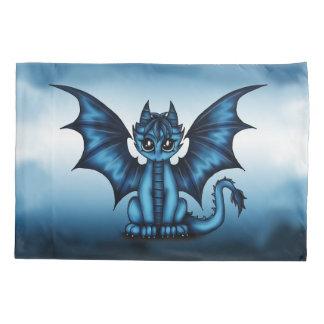 Dragonbaby blue pillowcase