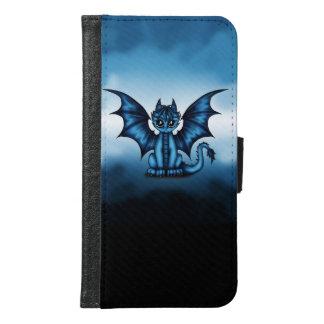 Dragonbaby blue samsung galaxy s6 wallet case