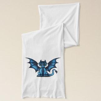 Dragonbaby blue scarf