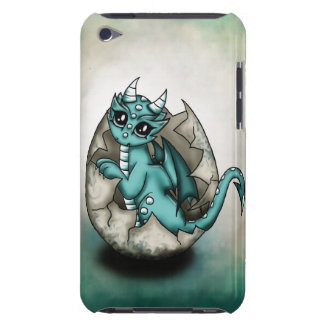 Dragonbaby in egg iPod touch cases