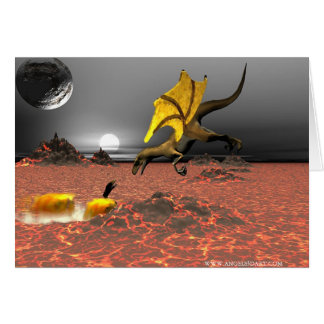 DragonFire Greeting Card