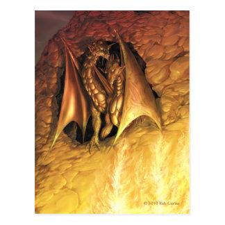 DragonFire Postcard