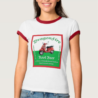 DragonFire Root Beer women's shirt