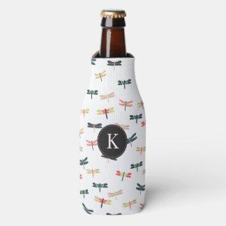 Dragonflies Bottle Cooler