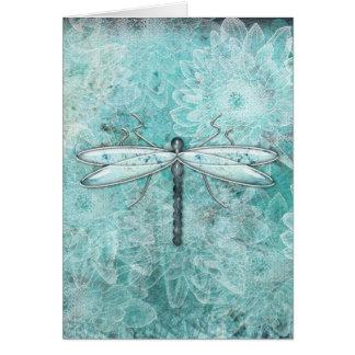 Dragonflies Damselflies Flowers | Greeting Cards