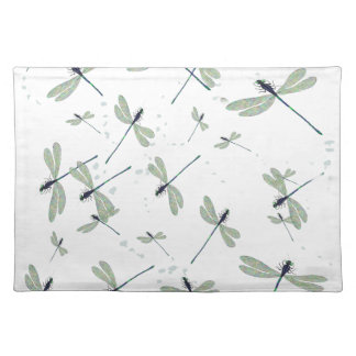 dragonflies in the sun placemat