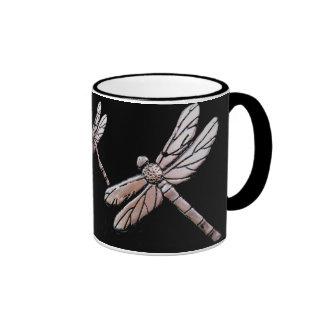 Dragonflies Ringer Mug