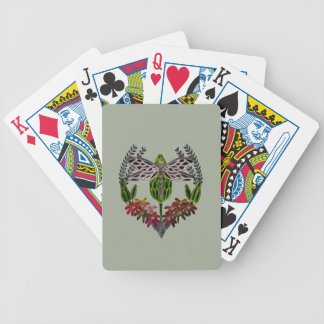 Dragonfly 1 bicycle playing cards