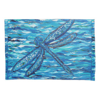 Dragonfly 2 pillowcase