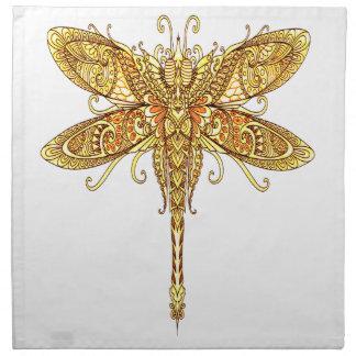 Dragonfly 3 napkin
