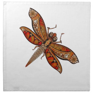 Dragonfly 4c napkin
