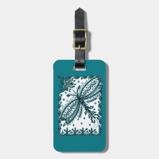 Dragonfly 5 luggage tag