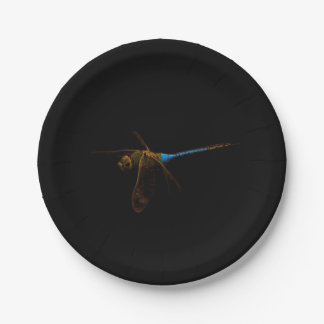"""Dragonfly 7"""" paper plate"""