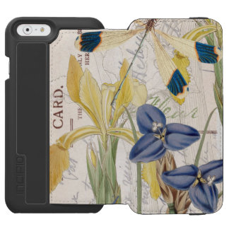 Dragonfly and Irises Incipio Watson™ iPhone 6 Wallet Case