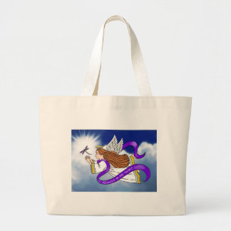 Dragonfly Angel Tote Bags