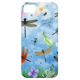 dragonfly art nola kelsey iPhone 5 cover