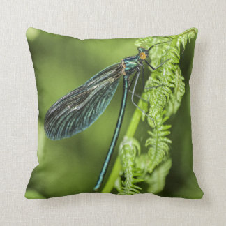 Dragonfly at Rest Cushion
