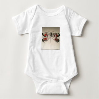 Dragonfly baby suit. baby bodysuit