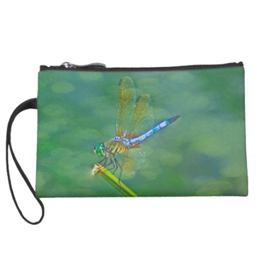 Dragonfly Wristlet Clutches