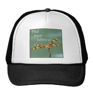 Dragonfly Balance Trucker Hats