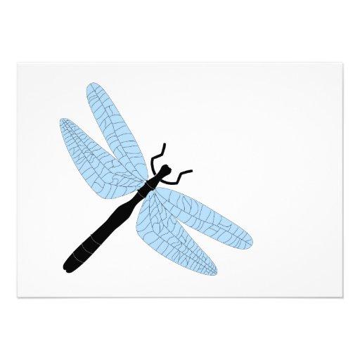 Dragonfly Birthday Custom Invite