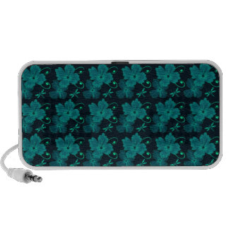 Dragonfly Blooming Flower iPhone Portable Speaker