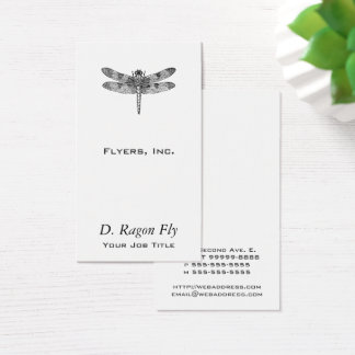 Dragonfly Business Card