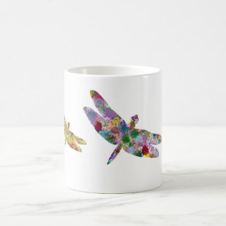 Dragonfly coffee cup